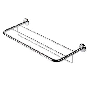 Towel shelf with towel rail