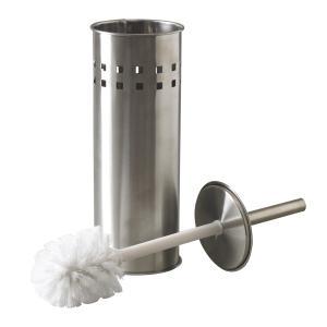 Toilet brush in holder