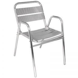 Aluminium stoel-0