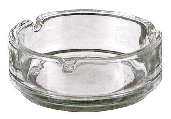 Glazen tafelasbak-0