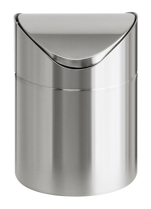 Table bin with swing lid-0