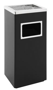 Rectangular ash-/ waste paper bin-0