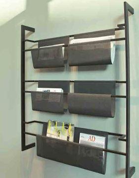 Wall mounted display - 5 pockets-0