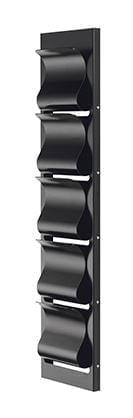 Magazine rack - 5 compartments-0