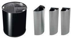 Abfallbehälter für Abfalltrennung.-3551