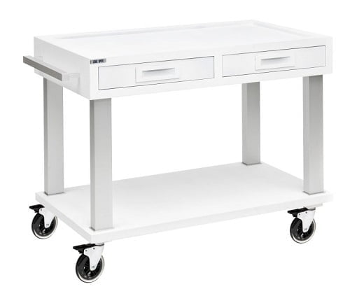 Trolley soft touch - zwart of wit-5593