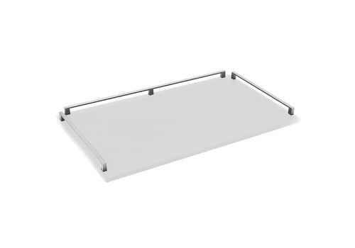 Trolley soft touch - zwart of wit-5592