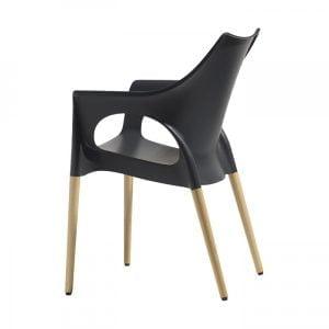 Stuhl aus Polypropylen-0