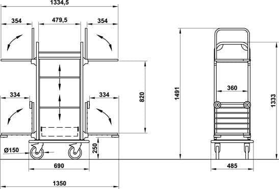 Zimmermächenwagen - FIDJI-5016