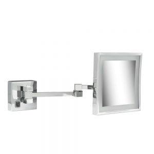 Vierkante spiegel met verlichting-0