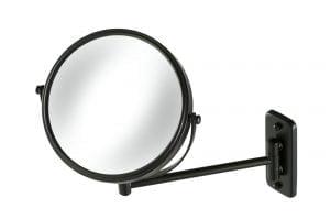 Scheerspiegel - mat zwart-0