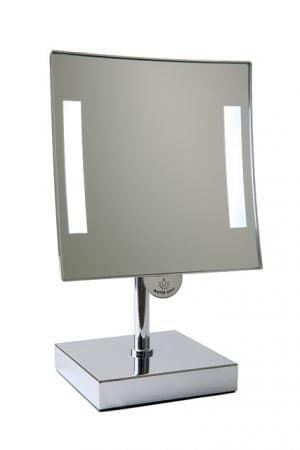 Vrijstaande spiegel met verlichting-0