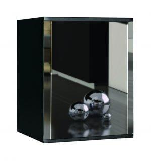 Minibar met spiegelglazen deur-0