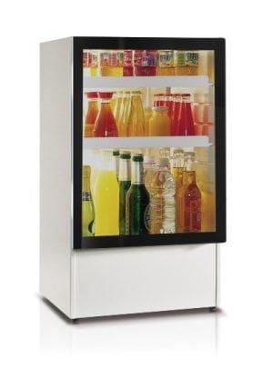 Große minibar mit Glastür-0