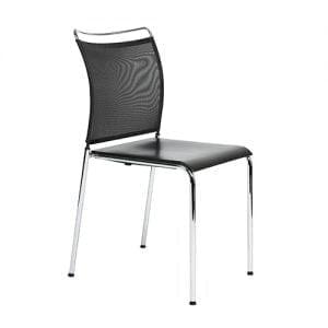 Elegante stoel met/zonder armleuningen-0