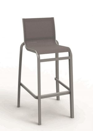 Hoge terrasstoel -0