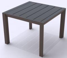 Terrace table low 50 cm-0