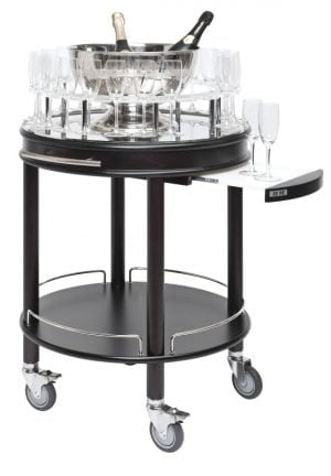 Champagne and liquor trolley-0
