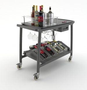 Trolley voor wijnen-0