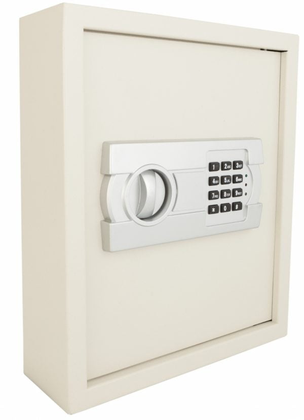 Key cabinet with electronic lock-5653