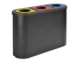Abfallsammeleinheit für drei Abfallströme-0