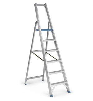 Inklapbare ladder met 6 treden-0