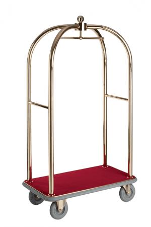 Bagagetrolley - Goudkleurig-0