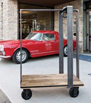 Industriële hotel trolley-0