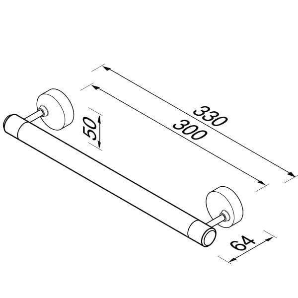 Badgreep 30 cm-6533