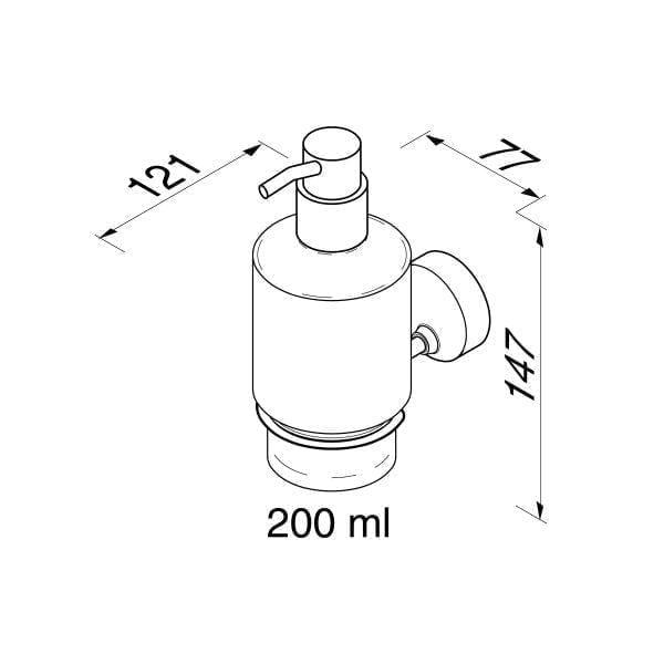 Zeepdispenser 200 ml-6429