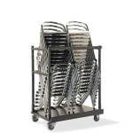 Trolley voor stapelstoelen en barkrukken-0